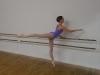 Caroline, engagée au Jeune Ballet d'Aquitaine, en 2011